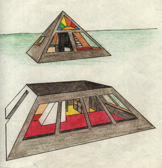 Pyramid House Design 28 Images Modern Pyramid House By